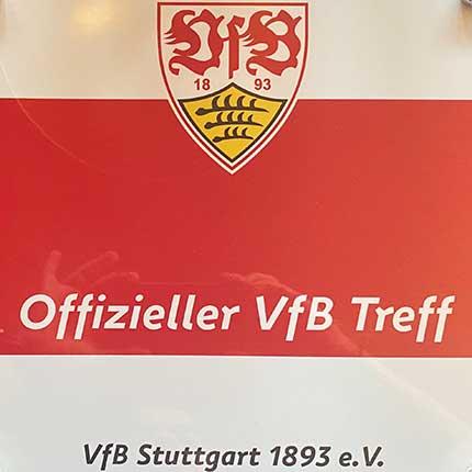 Die Stadiongaststätte Ebersbach ist offizieller VFB Treff